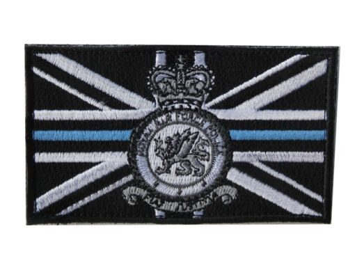 Thin Blue line RAF Police (RAFP) Tactical hook and loop patch