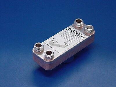 Edelstahl Plattenwärmetauscher B3-12a-12 35kw Solartauscher