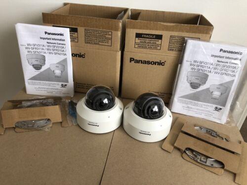 Lot Of 2 Panasonic WV-SFN310A / WV- SFN310AJ Dome Network Camera  - $229.00