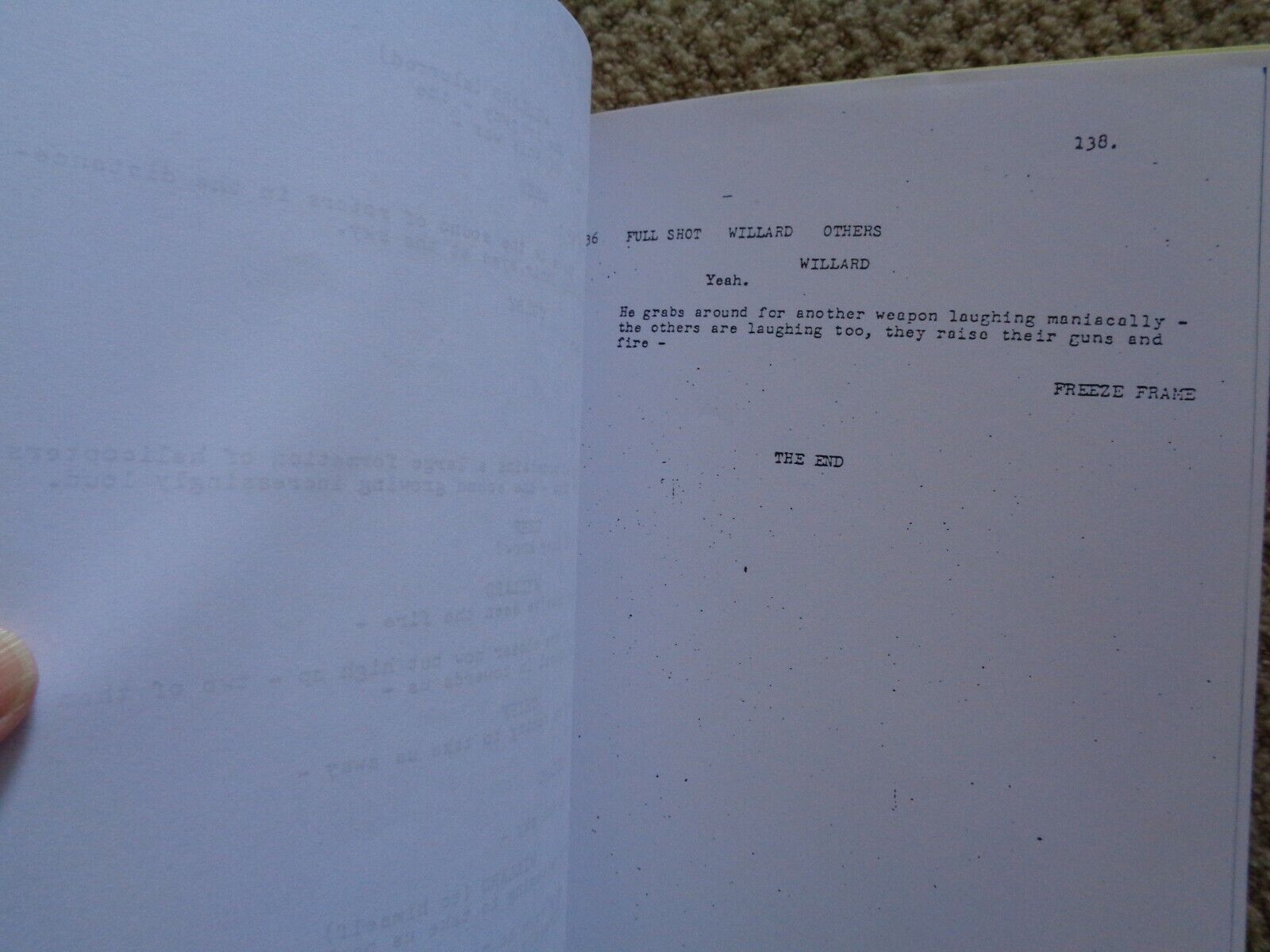RARE First Draft Apocalypse Now Film Script By John Milius Only Before Coppola  - $39.99