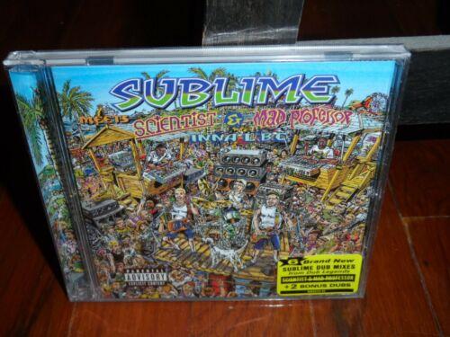 Sublime - Meets Scientist & Mad Professor Inna LBC CD 2021 RSD Rare