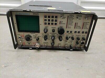 Motorola R-2001d Communications Service Monitor-tested
