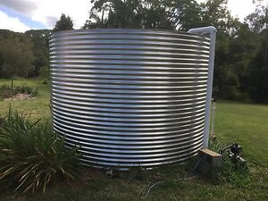 22,500 L stainless steel tank for repair or garden rings Terania Creek Lismore Area Preview