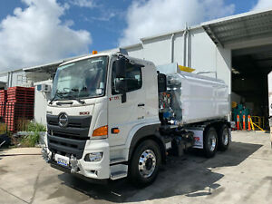 Hino FM 2632-500 Series 13,000Lt Galvanised Water truck Ormeau Gold Coast North Preview