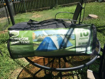 Jackaroo 10 Person Dome Tent | C&ing u0026 Hiking | Gumtree Australia Brisbane North West - Stafford Heights | 1171106854 : jackaroo 12 person tent - memphite.com