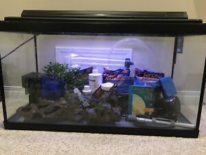 30 gallon Full set up- everything you need.
