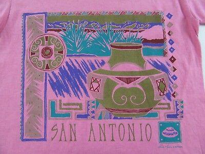 Nos Vintage 80S San Antonio Texas Southwest Vacation T Shirt Size M  Nwot