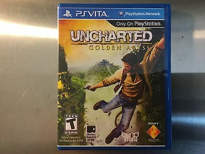 Replacement Case (NO GAME) Uncharted Golden Abyss- PS Vita for sale  Shipping to Nigeria
