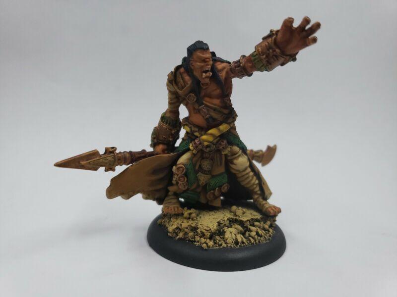 Hordes Warmachine Skorn Warbeast Cyclops Shaman Well Painted Metal