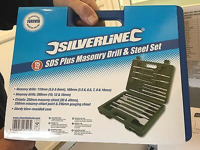 Guaranteed Forever Sds Plus Tungsten Carbide Shot Blasted Masonry Drill Set