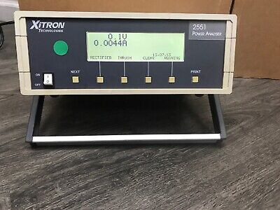 Xitron 2551 Power Analyser Tested