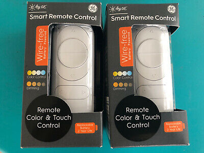 2 C by GE Wire-Free Smart Light Dimmer & Color Remote Control NEW SHIPS FAST