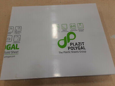 Monogal Clear Polycarbonate Sheet 14 X 23.5 X 19-14