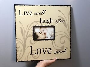 New - Wooden Wall Picture Frame