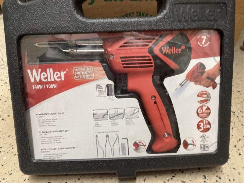 Weller 9400PKS 120V Dual Heat 140/100W Soldering Gun Kit W/6 Second Heat Up Time