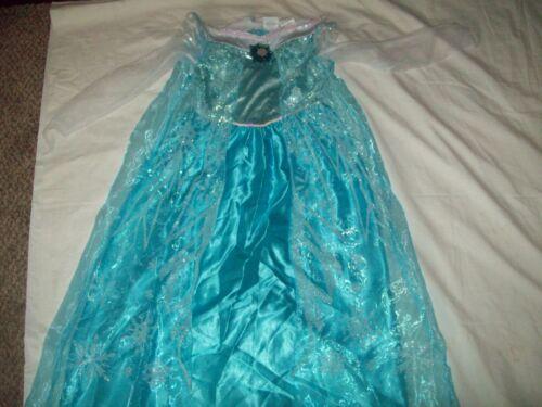 ELSA Frozen Disney Store Halloween Costume sz Medium