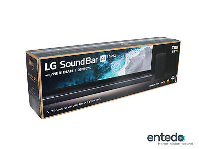 LG DSN10YG 5.1.2 Atmos Soundbar Wireless Aktiv Subwoofer Lautsprecher 4K HDMI