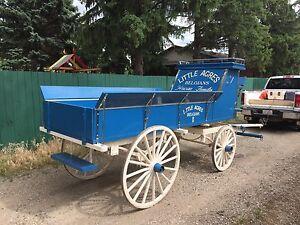 Heavy Horse Show Wagon