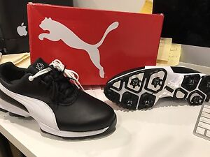 Puma Golf Shoes Ace US 9.5 waterproof Glenelg North Holdfast Bay Preview