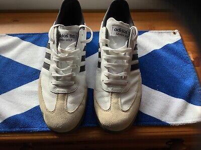 Mens Adidas Samba Golf Shoes 10.5,Worn Once Very Rare plus Shoe Bag