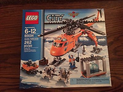 LEGO 60034 Arctic Helicrane from the City Series New in Box