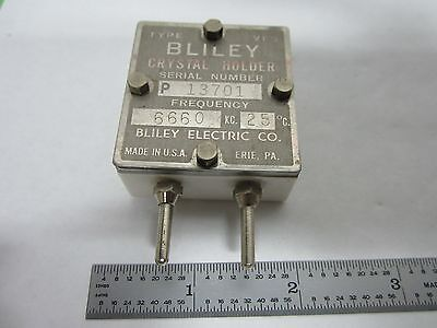 Vintage Wwii Bliley Vp5 Quartz Crystal Frequency Control Ham Radio Binl7-29
