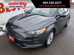 2017 Ford Fusion SE SUPER CLEAN!!  BACK UP CAMERA,SUNROOF