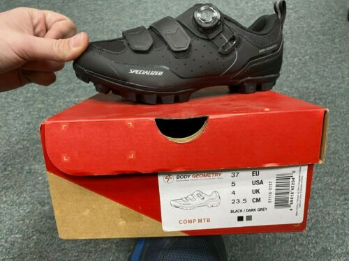 Specialized Comp MTB Mountain Bike Shoe (Mens US Sizes 5, 5.75, 6.5, 7.25, 8, 9)