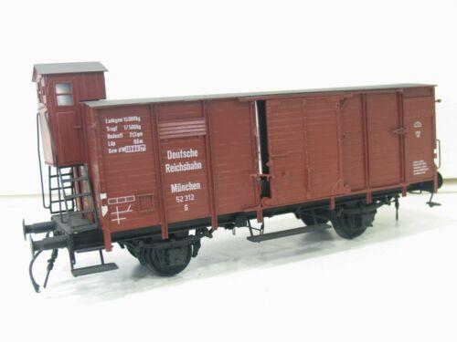 Wilgro Gauge 1 Freight Car DRG 52 312 Metal Version Brakeman