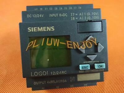 Siemens Logo 1224rc 6ed1 052-1md00-0ba5 Used
