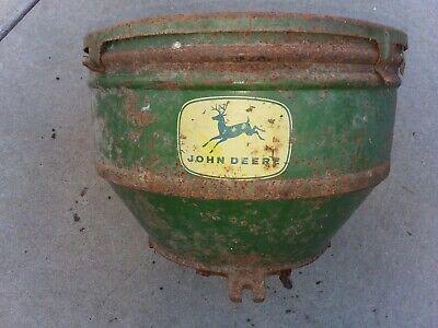 Vintage John Deere Planter Fertilizer Box Model 495 4 Row Corn Planter