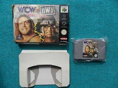 WCW vs. NWO WORLD TOUR - N64 / nintendo 64