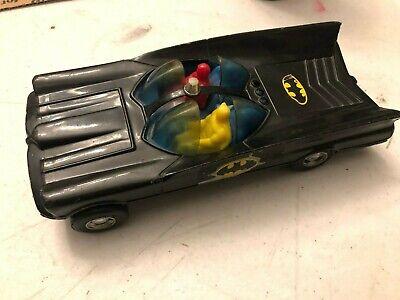 Batman Simms Aurora IL car with Robin  no# 529 vintage toy Batmobile