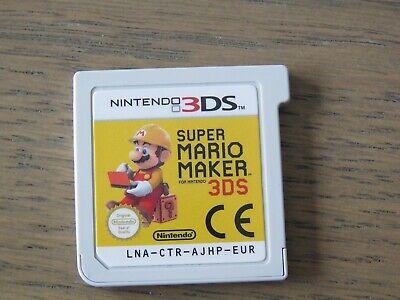 JEU NINTENDO 3DS SUPER MARIO MAKER  EN FRANCAIS ,,