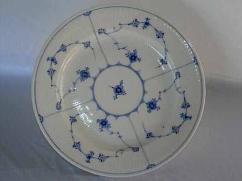 """VINTAGE ROYAL COPENHAGON DENMARK BLUE LACE PORCELAIN SOUP PLATE 9 3/4"""" WIDE"""