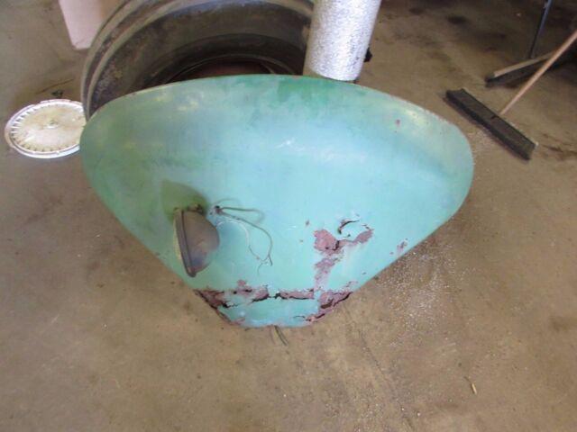 John Deere 1010 Tractor Left Fender