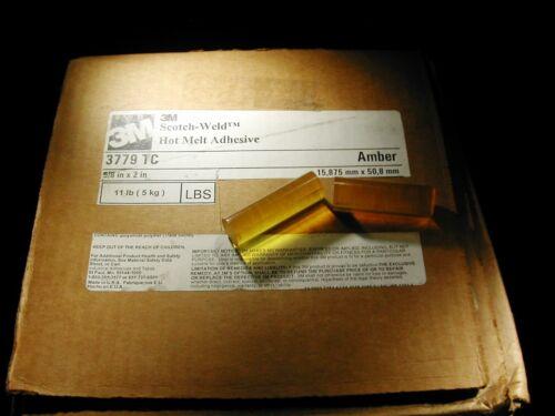3M 3779 TC Scotch Weld Hot Melt Adhesive (amber) 11 lbs