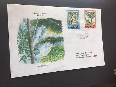 Brief TOKELAU Fakaufo nach Coslmont Indiana USA 26.Juni.1985