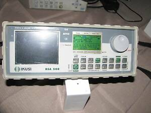 IKUSI DSA500 DIGITAL SIGNAL FINDER ANALYSER METER Enfield Port Adelaide Area Preview