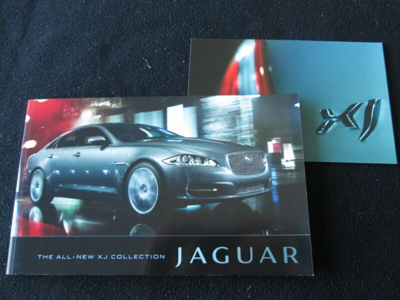 2010 Jaguar XJ Deluxe Brochure XJ L L Supersports Supercharged & Intro Catalog