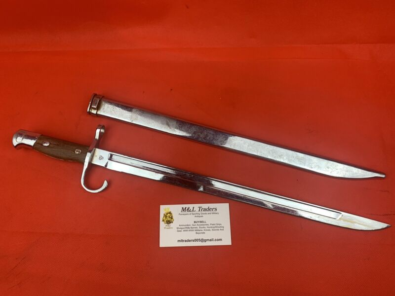 Original Japanese Arisaka Rifle Bayonet Parade Dress Variant RARE