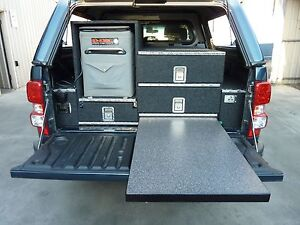 TOW VEHICLE CUSTOM DRAWERS AND SLIDES Wingfield Port Adelaide Area Preview