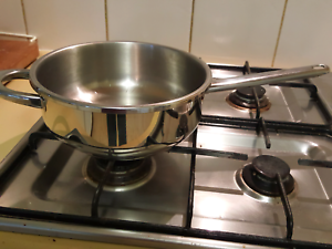 French Stainless steel ASEB 3 litre Fry Cooker pan 23 cm Mitcham Whitehorse Area Preview