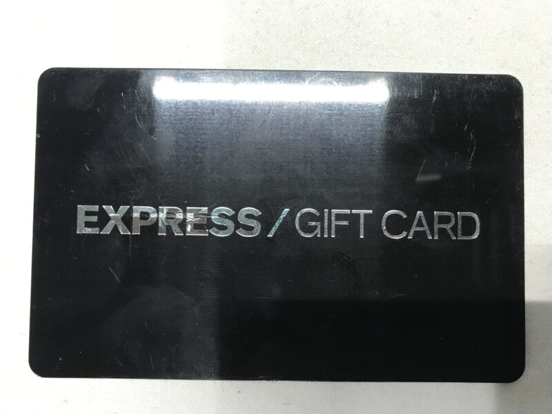 $200 Express Gift Card Physical Free Shipping