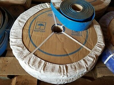 Blue Pvc Lay Flat Discharge Hose 1-12 Id X 50