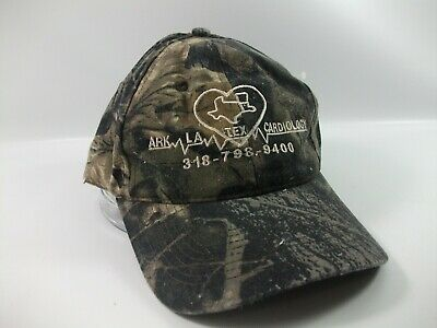 Ark La Tex Cardiology Camo Hat Camouflage Snapback Baseball Cap for sale  Moncton