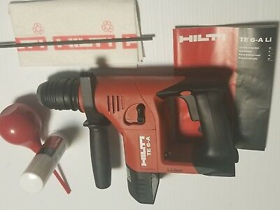 Hilti Te 6-a Li-ion Cordless Rotary Hammer Drill Tool Only Brand New.