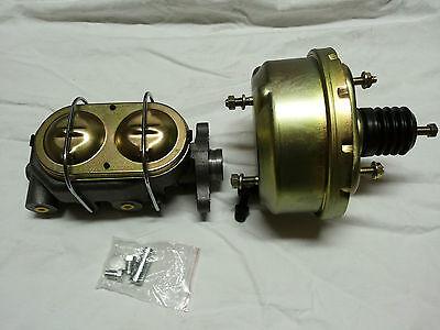 """Bremskraftverstärker 7"""" mit Hauptbremszylinder universal , Hot Rod, Custom"""
