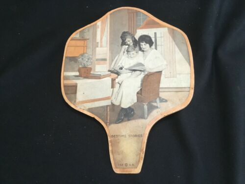 Antique Advertising Fan Farmers & Merchants National Bank Matawan NJ