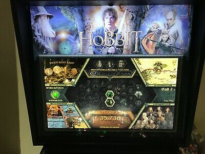 JERSEY JACK THE HOBBIT PINBALL ARCADE MACHINE, FULLY WORKING,